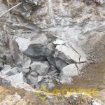 Разрушение гранитного массива в Советском районе г. Челябинск. ГК Фортис