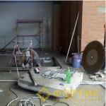 Фортис-Строй. Устройство проемов в перекрытиях под шахту грузового лифта.