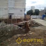 Фортис-Строй. Разрушение монолитных фундаментов с помощью ГДШ