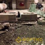 Фортис-строй. ПАО «Качканарский ГОК». Демонтаж фундамента пульпонасосной станции №3